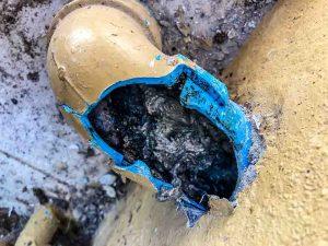 sewer line repair in Melbourne, FL